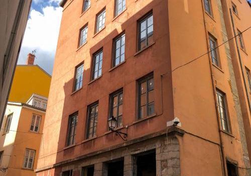 Restauration d'un immeuble de 23 logements